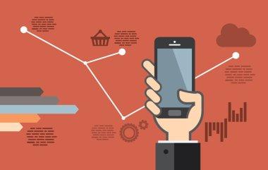 Mobile application development or smartphone app programming