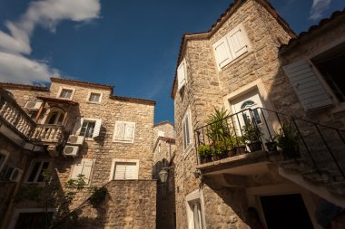 view of old stone building at mediterranean town