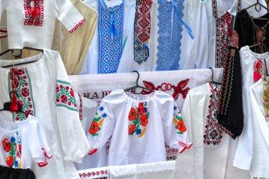 """Картина, постер, плакат, фотообои """"вышито традиционное народное украинское рукоделие """", артикул 121650006"""