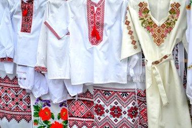 """Картина, постер, плакат, фотообои """"вышито традиционное народное украинское рукоделие """", артикул 121650104"""