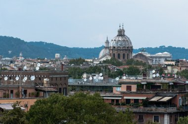 Beautiful view of Rome, Italy