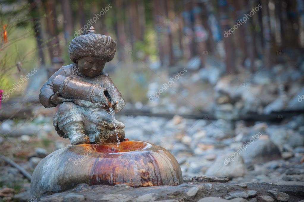 Datsan is Buddhist monasteries in Russia. Republic of Buryatia, Russia