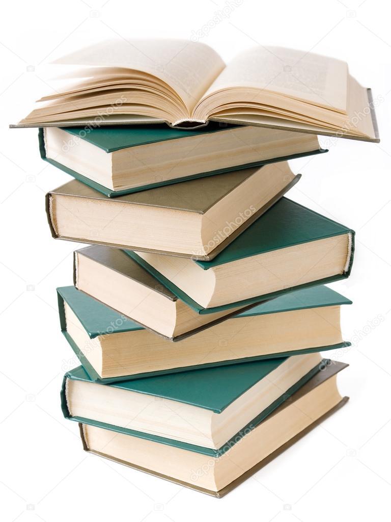 Bücherstapel zeichnung  bücher-stapel — Stockfoto © LessLemon #82375334