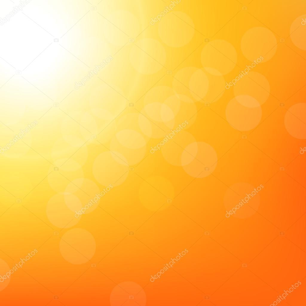 Sunbeam Background With Bokeh