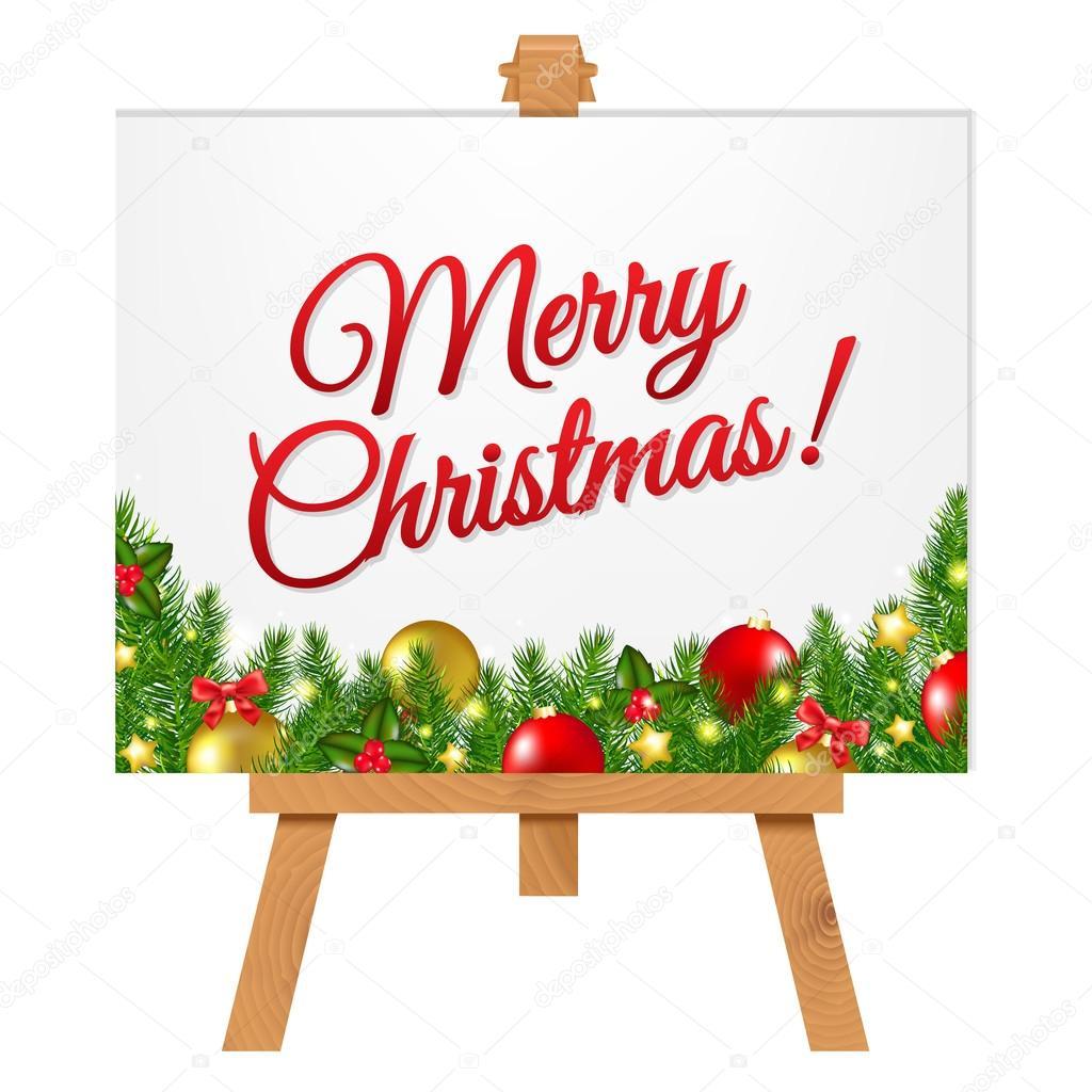 クリスマス枠のバナー ストックベクター Barbaliss 112428842
