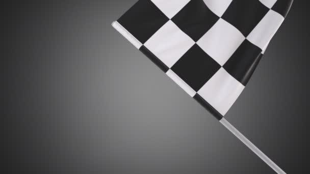 Zpomalené video vlály vlajky v plném Hd