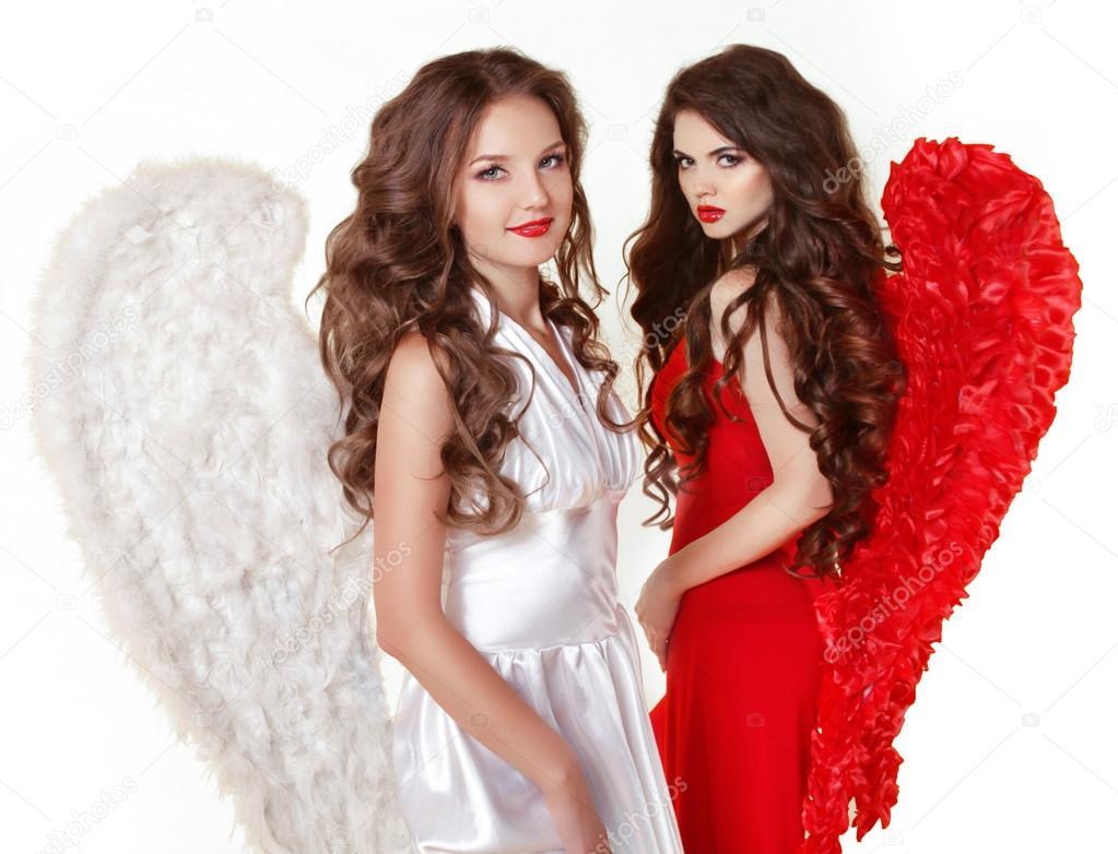 Atraente Moda Meninas Lindo Anjo Com Asas De Anjo Val
