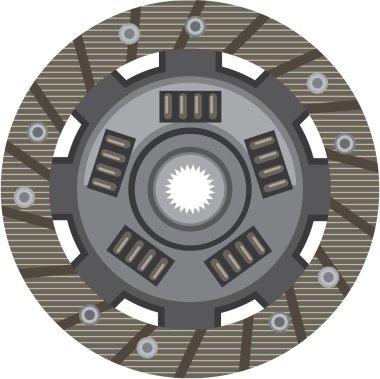 Clutch disc vector