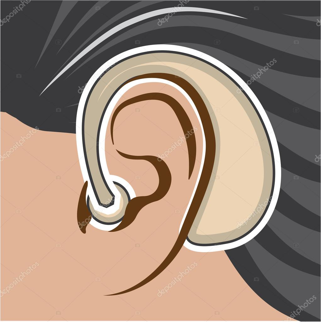 Hearing Aid Vector Stock Vector Antonnovik 89072210