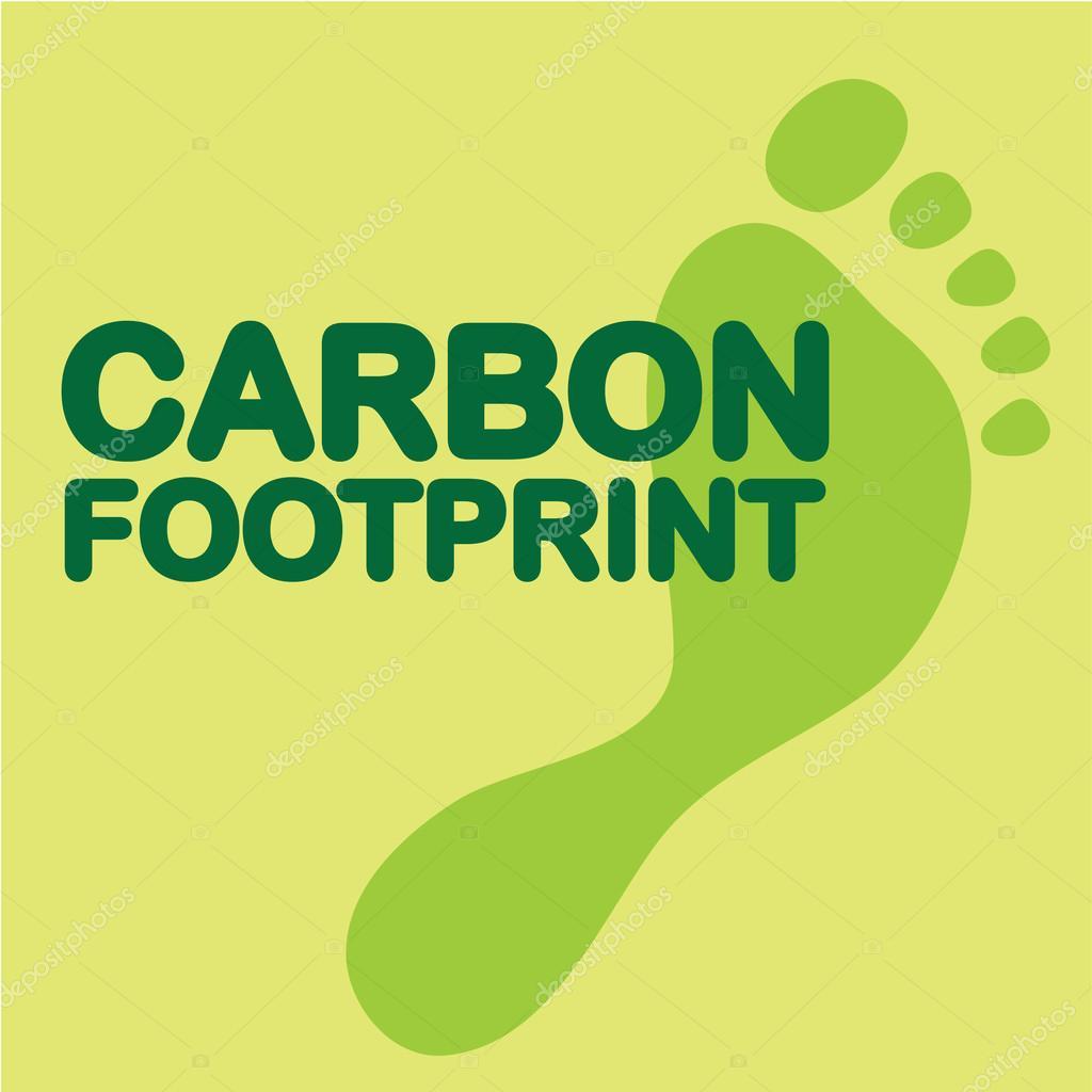 炭素フット プリント クリップアート — ストックベクター © anton_novik