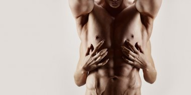 Hands and abs