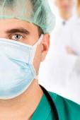 Műtét csapat a munkahelyi