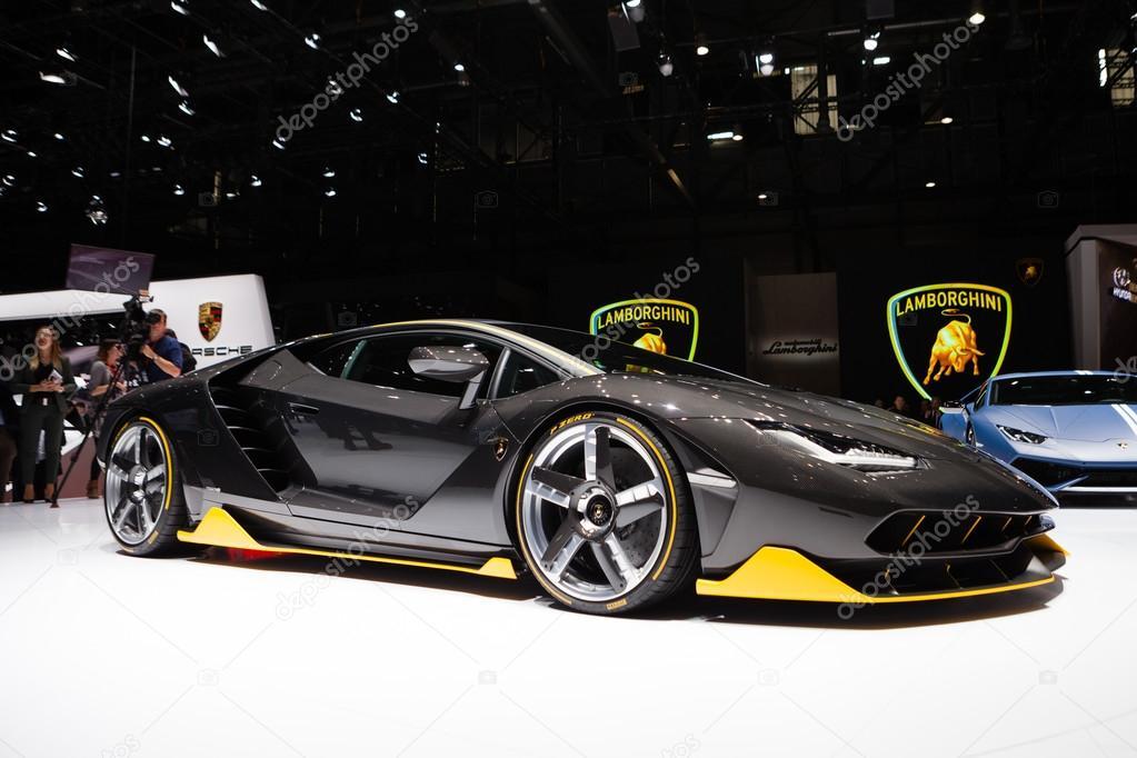 Lamborghini Centenario In Geneva Stock Editorial Photo C Mtoome