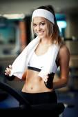 Fotografie Fitness auf dem Laufband