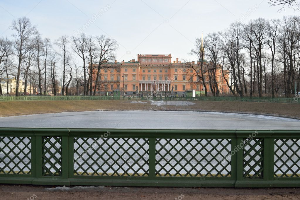 The Mikhailovsky Castle and Summer Garden.