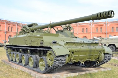152mm self-propelled cannon 2S5 Giazint-S.