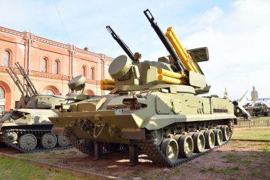 Antiaircraft gun-missile complex 2K22 Tunguska.