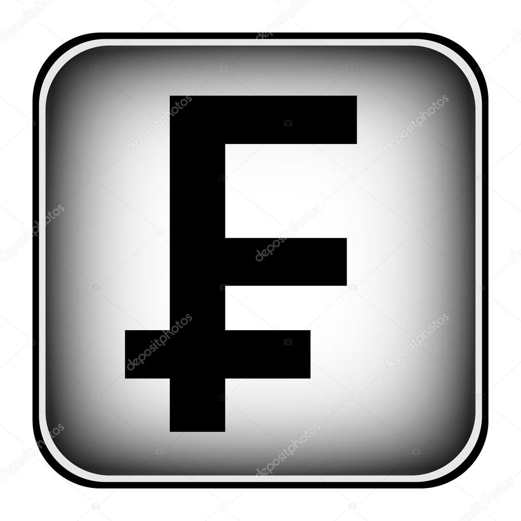 Swiss franc symbol button stock vector konstsem 55109747 swiss franc symbol button stock vector buycottarizona Images