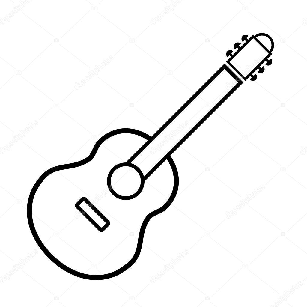 gitaar teken pictogram stockvector 169 konstsem 56950467