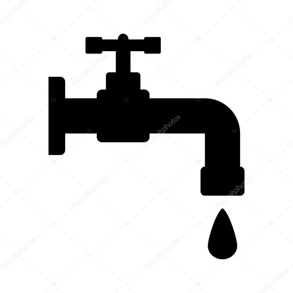 Wasserhahn Symbol Stockvektor 169 Konstsem 57929731
