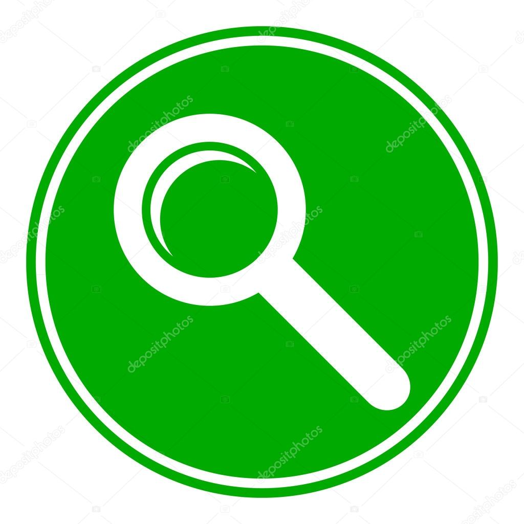 Search sign button