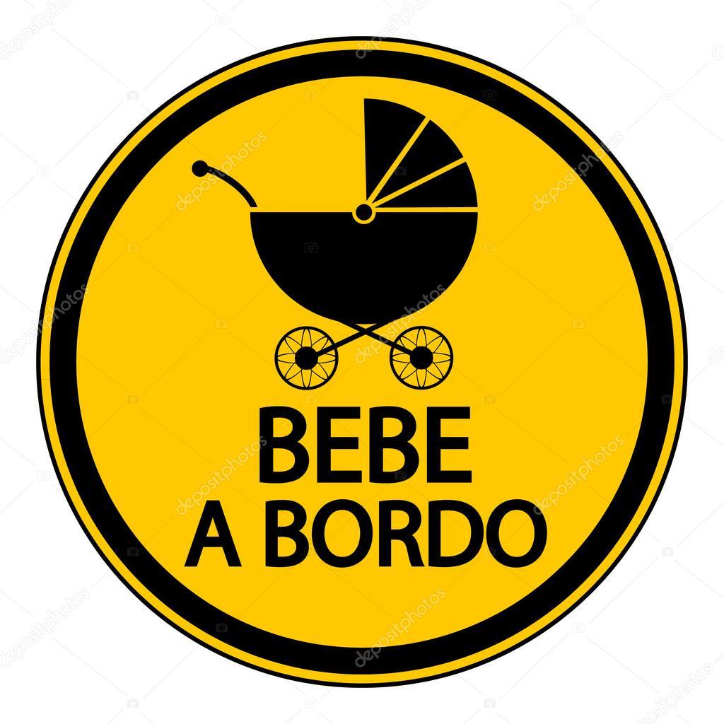 B B Bord Signe En Espagnol Image Vectorielle Konstsem 79968034