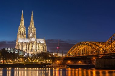 Bridge and the Dom of Cologne