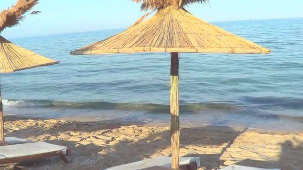 Beach umbrellas, Bulgaria