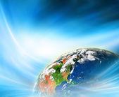 Legjobb Internet fogalmának globális üzleti fogalmak sorozatból. Ez a kép a Nasa berendezett elemei