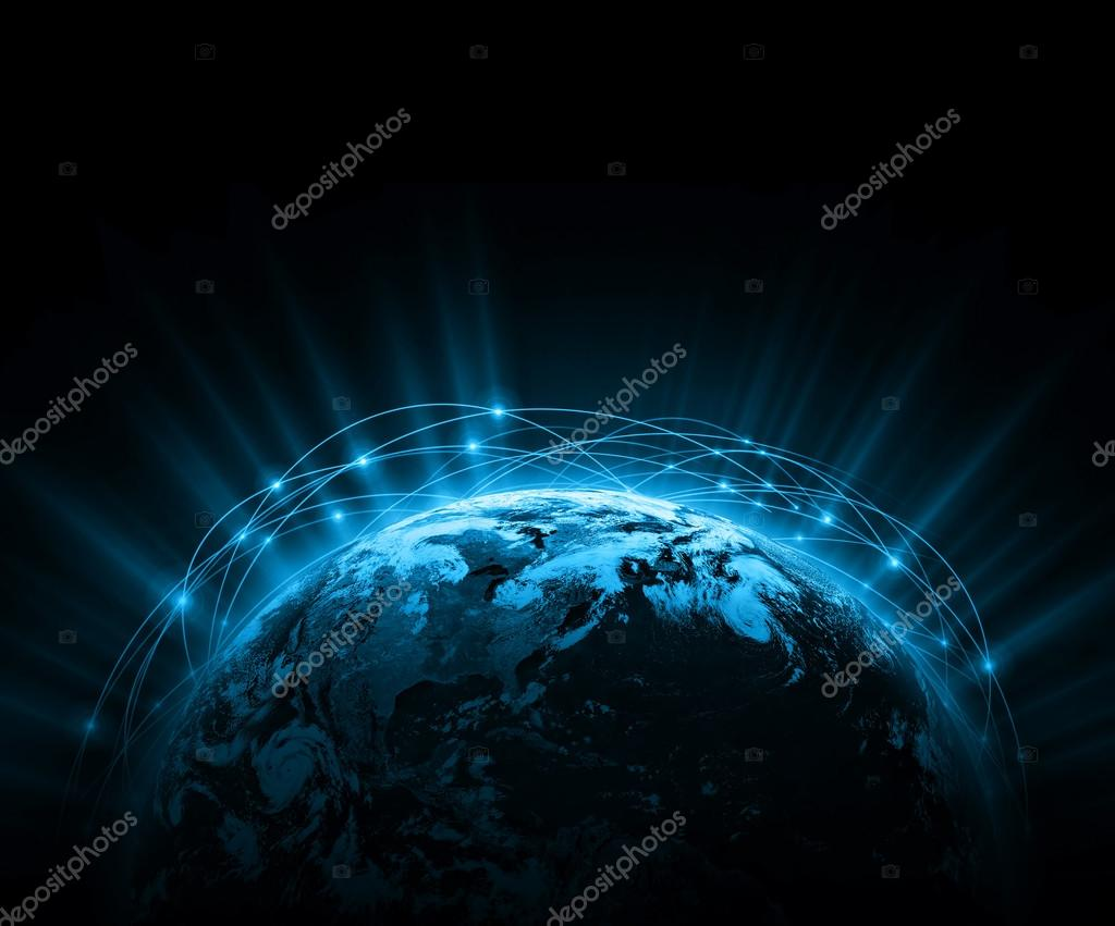 Best Internet Concept of global business from concepts series. Elements of this image furnished by NASA