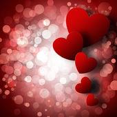 Valentines den abstraktní pozadí