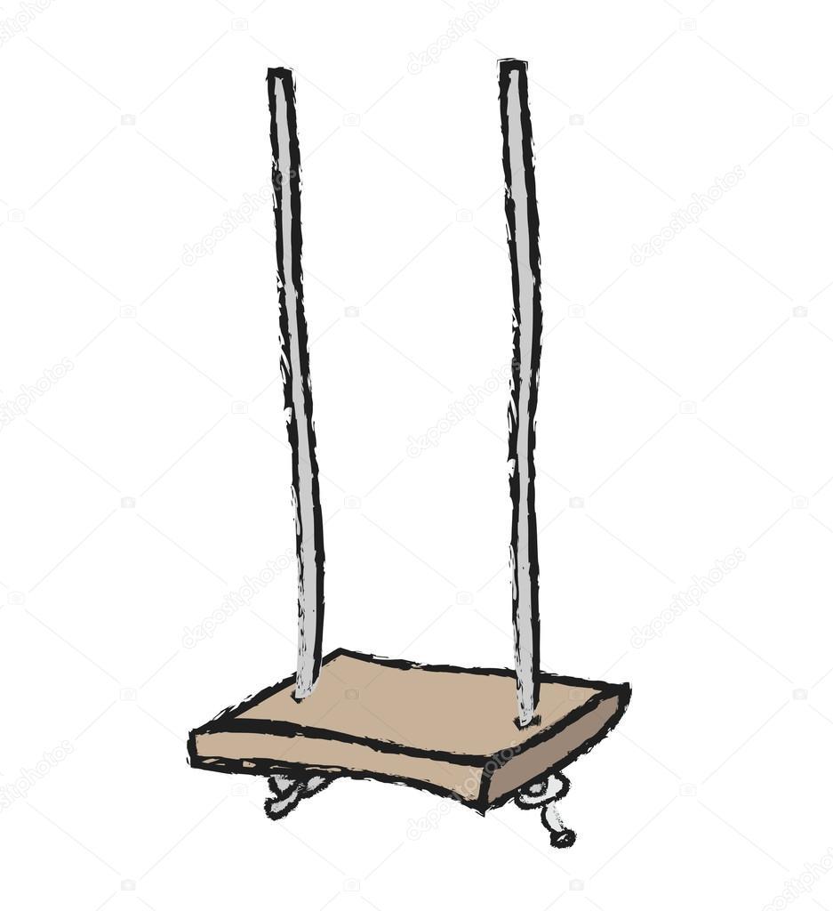 Cartoon Schaukel Stockfoto C Dusan964 64534917