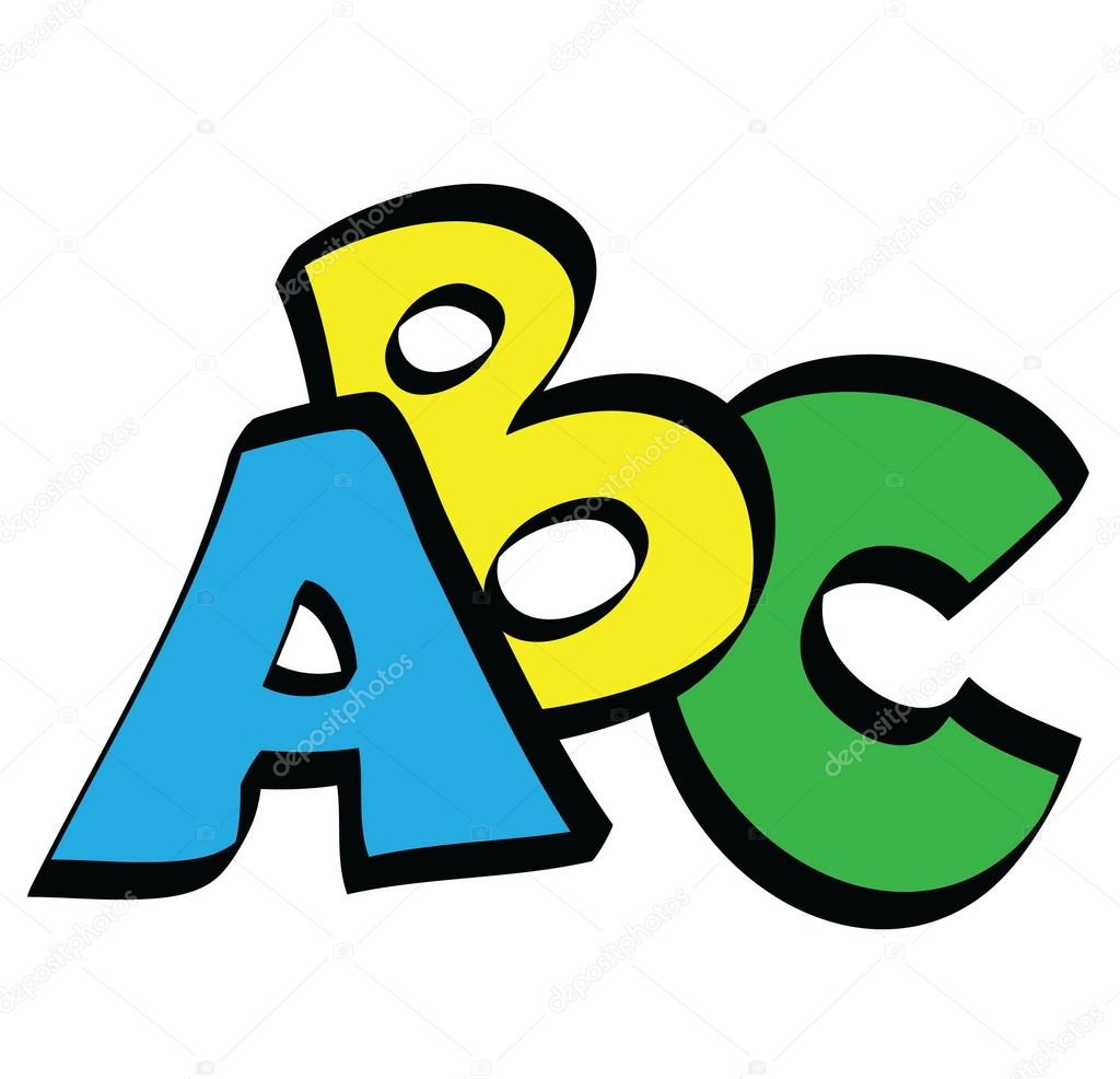Cartoon ABC letters — Stock Photo #69527251