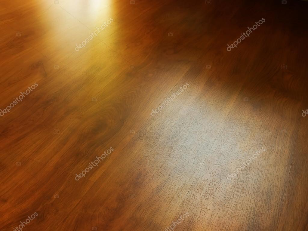 Wood Texture And Reflection Of Light Laminate Background Stock Photo