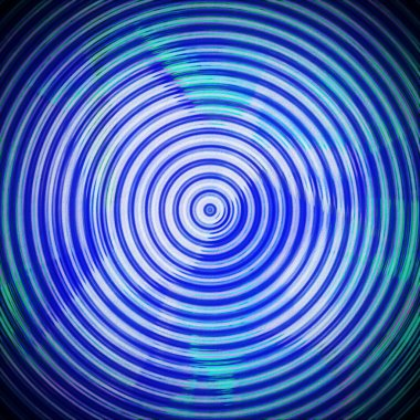 grunge concentric circles background and texture, design element