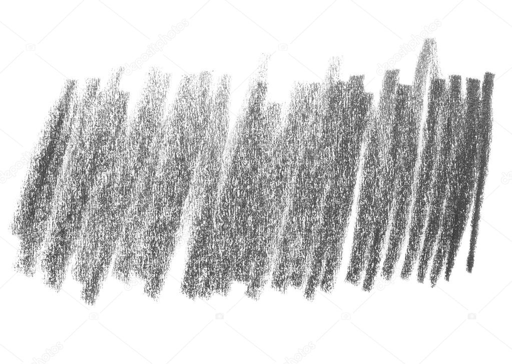 Hatching Grunge Graphite Pencil Background And Texture Isolated On