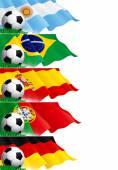Készlet-ból foci bannerek