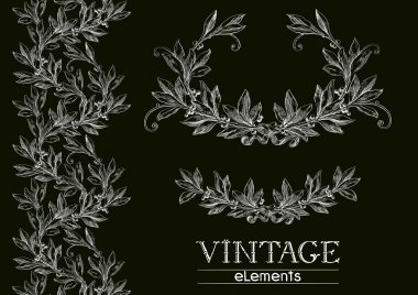 Vector laurel wreath