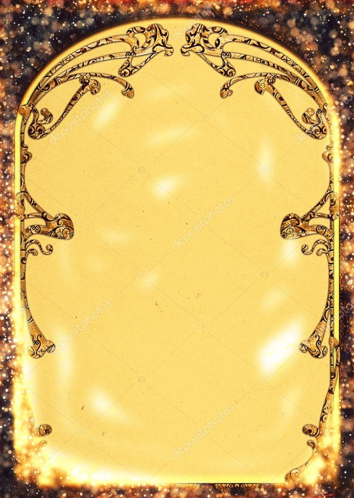 Art Nouveau Backgrounds and Frames — Stock Photo © greglith #71487627