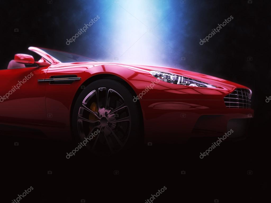 Red Sports Car - Epic Lighting u2014 Stock Photo : epic lighting - www.canuckmediamonitor.org