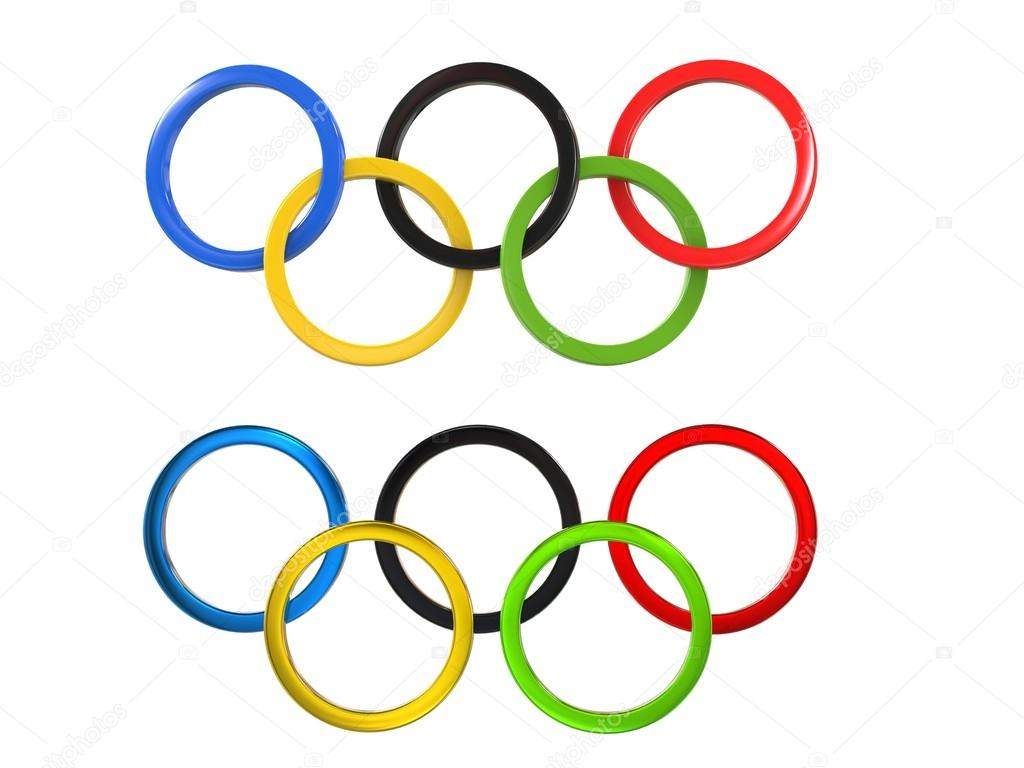 Olympic games symbol two variations of the famous symbol stock olympic games symbol two variations of the famous symbol stock photo biocorpaavc Images