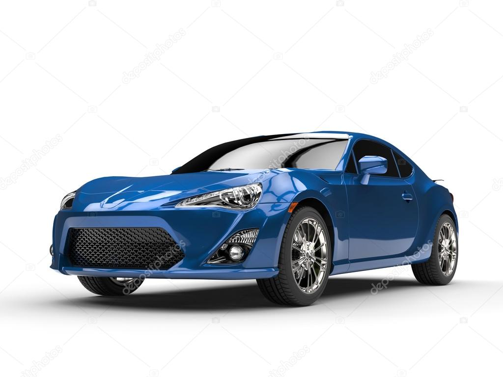 Generic Blue Sports Car Studio Shot Stock Photo C Trimitrius 121577636