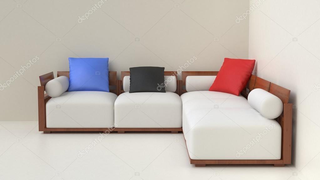 Beige Wohnzimmer Möbel Set U2014 Foto Von Trimitrius