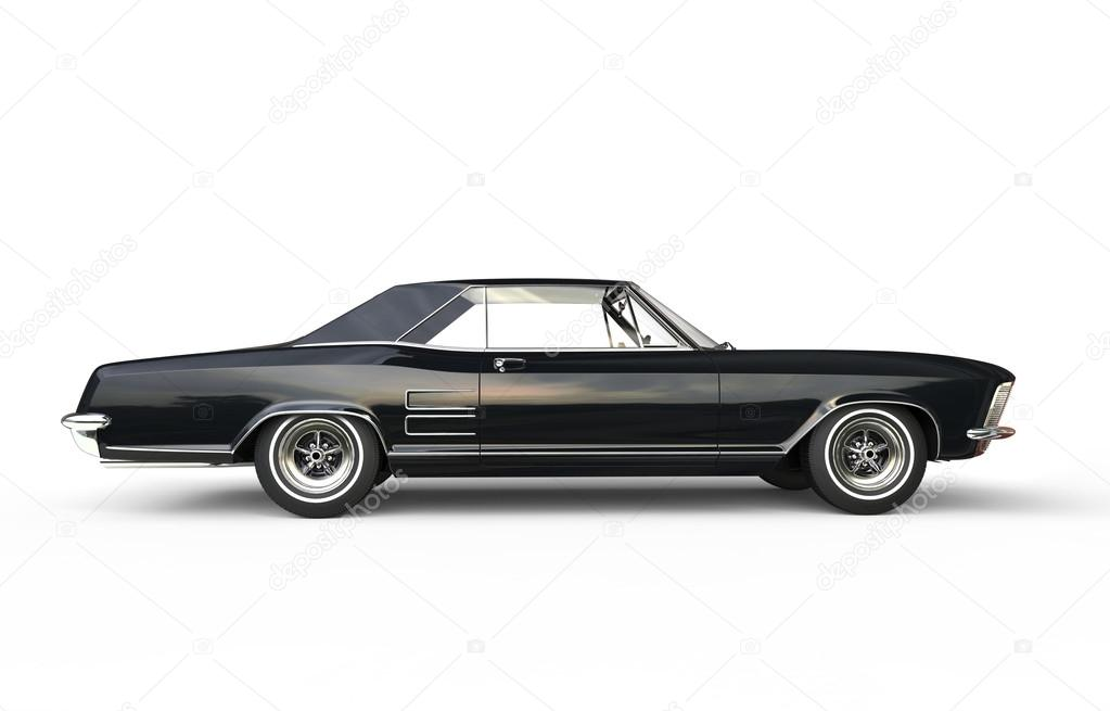 Vintage American Car - Side View – Stock Editorial Photo ...