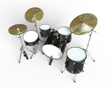 Drums - Top View
