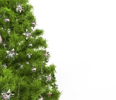Christmas Tree - Silver Decorations