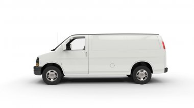 White Van - Side View