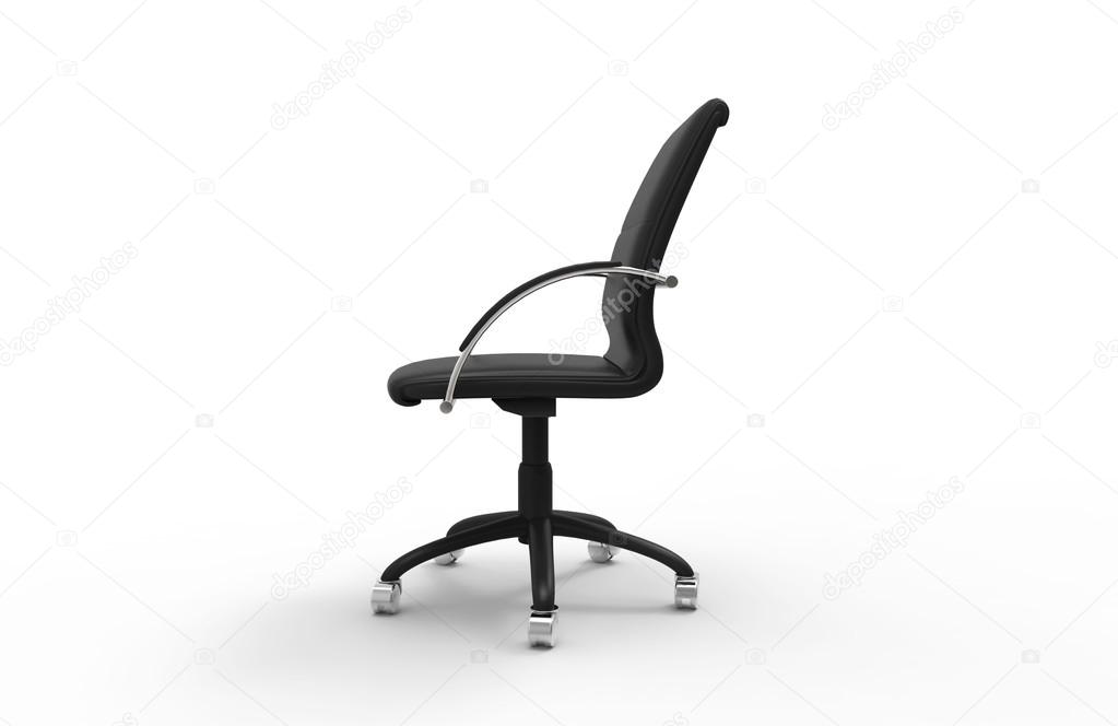 office chair side. Wonderful Office Leather Office Chair  Side View U2014 Stock Photo In I