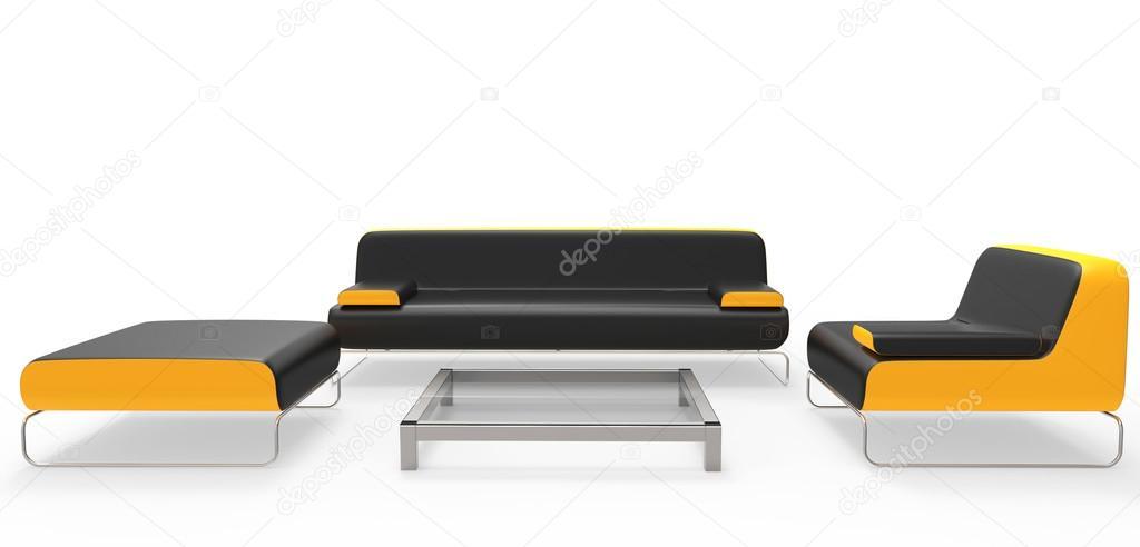 woonkamer meubels set — Stockfoto © Trimitrius #83374638