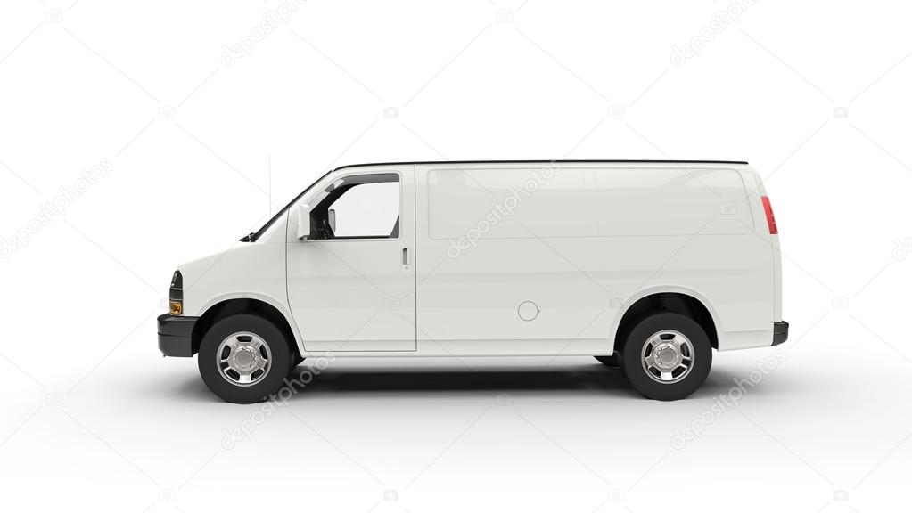 white van side view stock editorial photo trimitrius 83379330